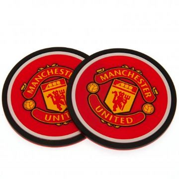 Manchester United 2 Pack Coaster Set